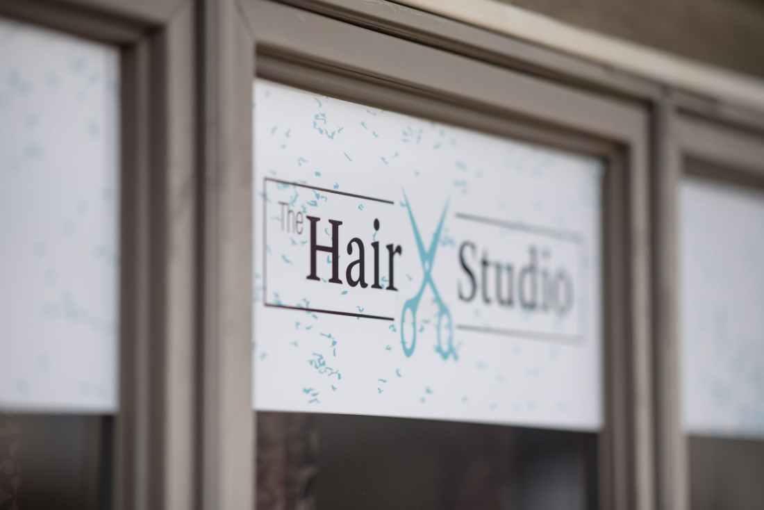 hair studio signage